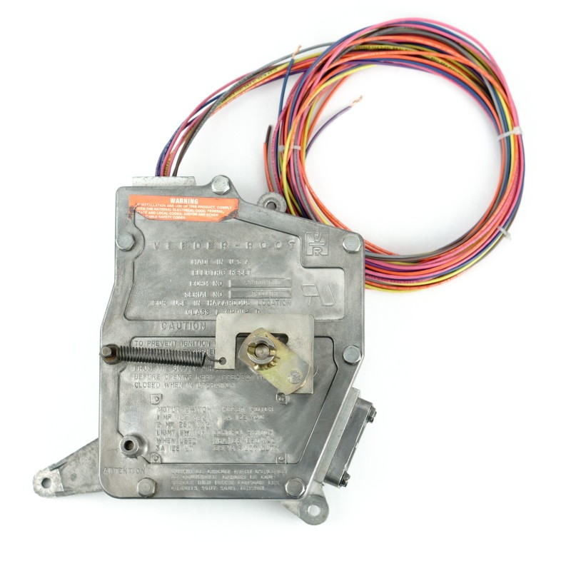 PMP V-R 7269 Electric Reset for Bennett - 9 Wires exit top, Computer Mounted. PMP 38009-9.