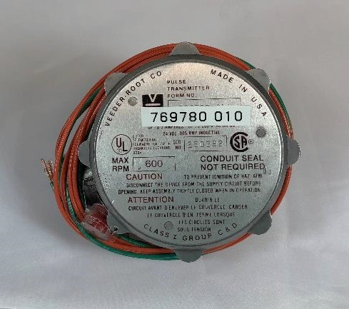 PMP V-R 7697 Pulser for Gasboy 9120Q & 9120K Series Counter. PMP 47106, OEM 021788, 769780-010.