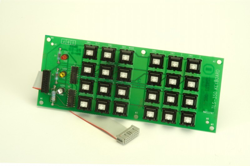 PMP Veeder-Root® Keyboard for TLS w/o keycaps, remanufactured. PMP 62602, OEM 329223-003, 329328-002.