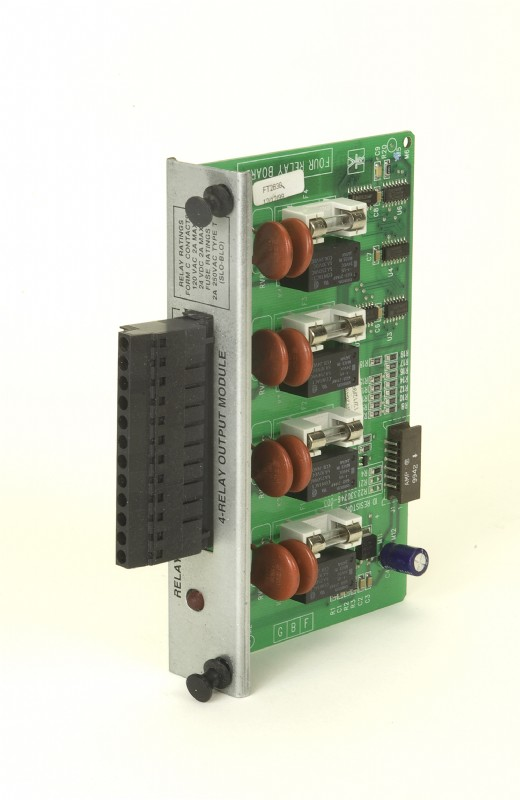 PMP Veeder-Root® 4-Relay Output Module for TLS-350 Consoles, Remanufactured. PMP 62613, OEM 329359-001.