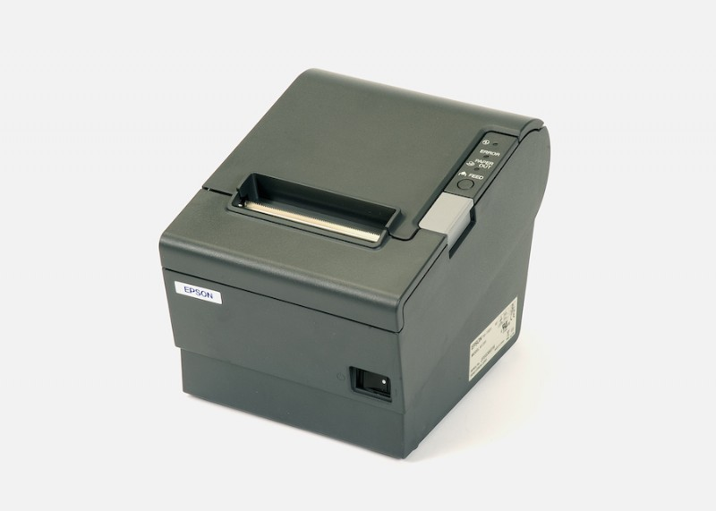 PMP Epson® TM-T88IV Printer, Gray - USB. PMP 68714-U, OEM TM-T88IV, PA03750013.
