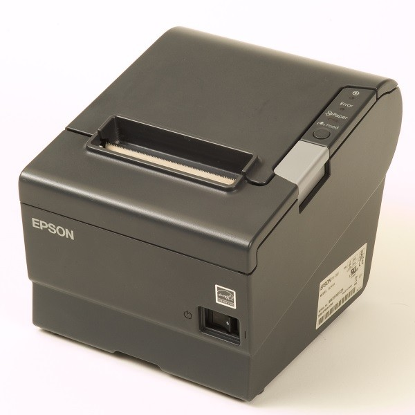 PMP Epson® TM-T88V Printer, Gray - Serial & USB. PMP 68715, OEM TM-T88V, PA04060013.