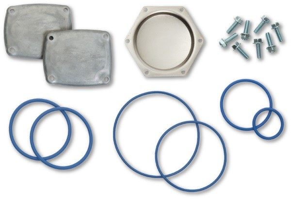 PMP PMP Blue Fluorosilicone Seal & Cover Kit for Wayne® 2PM Meter. PMP 80101.