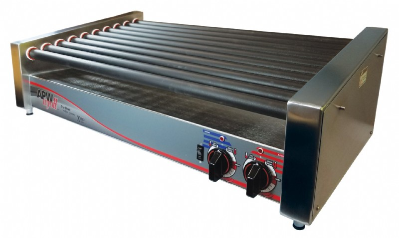 PMP APW Wyott® HRS-50S X*PERT™ Slanted HotRod® Roller Grill - Remanufactured. PMP 75428, OEM HRS-50S.