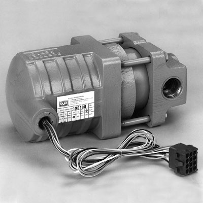 PMP Gilbarco® VaporVac® with connector. PMP 51200, OEM R19663-G1.