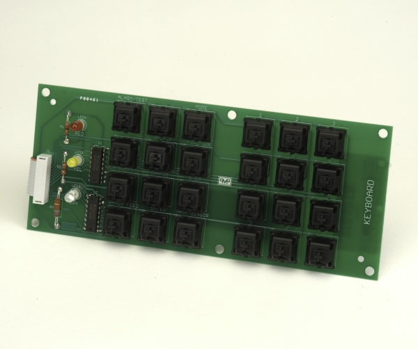 PMP PMP Keyboard for Veeder-Root® TLS without keycaps, new. PMP 62600, OEM 329223-003, 329328-002.