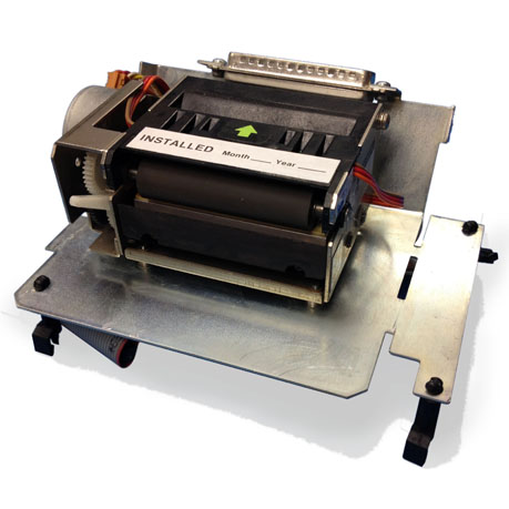 PMP Gilbarco® CRIND® G6 Printer for Advantage™ Mechanism Only with Base Plate. PMP 68310, OEM T18188-G-3, T18188-G-6.
