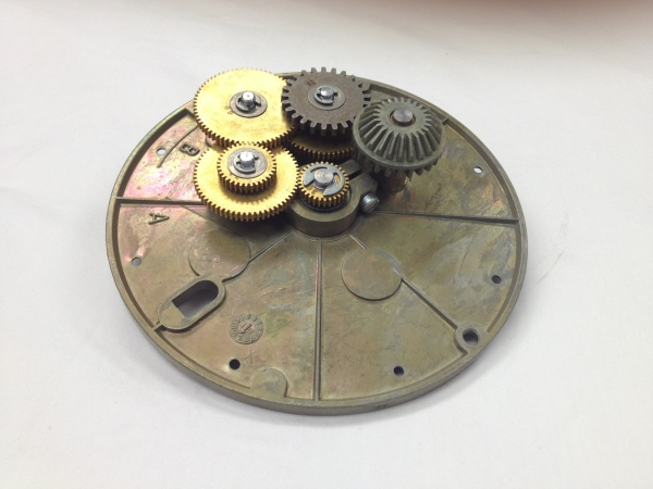 PMP Veeder-Root® gear plate used between Register and Meter. PMP 82207, OEM Multiple #s.